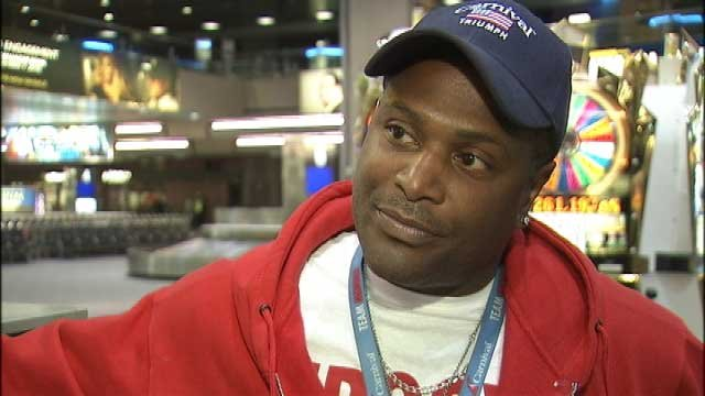"""Smiley"" Joe Wiley said he was dreaming of Beyonce when he was awaken of the fire emergency on the Carnival Triumph."