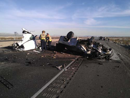 Another view of the deadly head-on crash. (Courtesy: Chip Garrett)