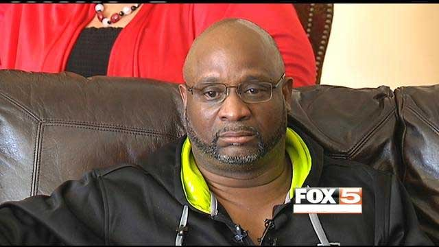 "Ken Cherry, Sr., said his son, Ken ""Kenny Clutch"" Cherry, Jr., was as much a victim in the incident as the two others who died on the Las Vegas Strip on Feb. 21, 2013."