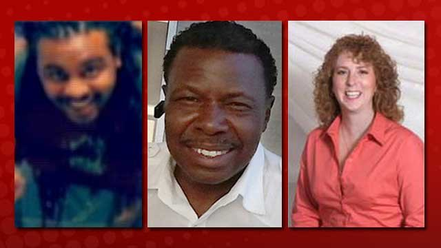 From left to right: Ken Cherry, Jr.; Michael Bolden; and Sandra Sutton-Wasmund.