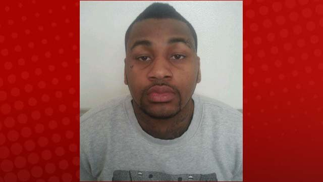 Ammar Harris was captured on Thursday in Los Angeles. (LVMPD)