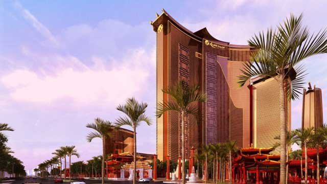 An artist rendering shows the product Genting Group hopes to build after its acquisition of the Echelon site. (Genting Group)