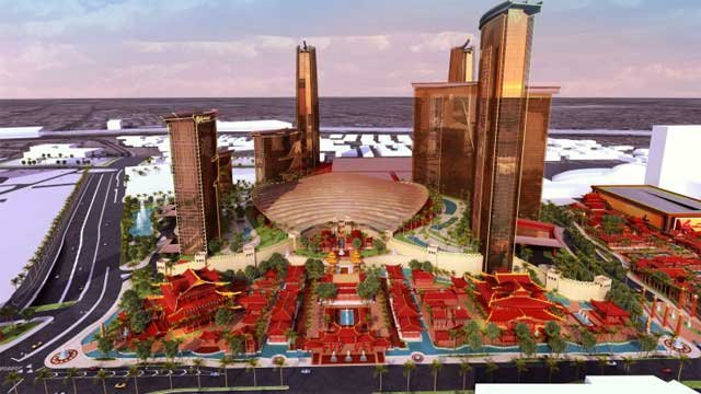 Plans appear to call for multiple towers as part of a complex for the Resorts World. (Genting Group)