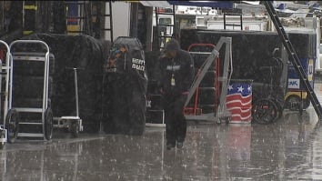Rain forced the cancellation of Friday's qualifying
