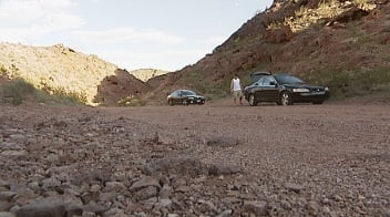 Gold Strike Canyon Trailhead has seen the most theft in the past month, with six break-ins