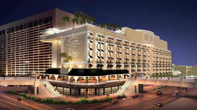 An artist rendering shows plans of Gansevoort Las Vegas once renovations are complete. (Caesars Entertainment)