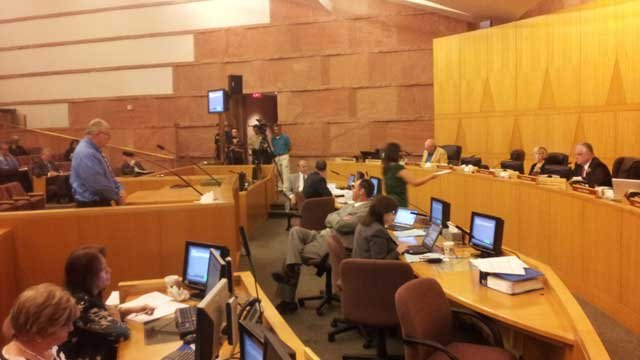Members of the board asserted the move to abolish was not personal but a budgetary move. (Christian Cazares/FOX5)