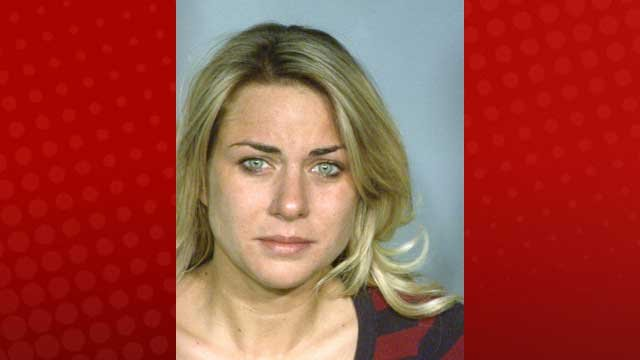 Shauna Miller, 26, was charged with driving under the influence in the deadly wreck on Spring Mountain Road on March 23, 2013. (LVMPD)