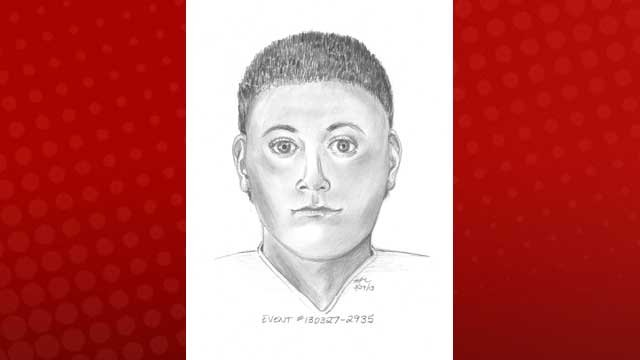Police released a composite sketch of a man suspected of a kidnapping on March 27, 2013. (LVMPD)
