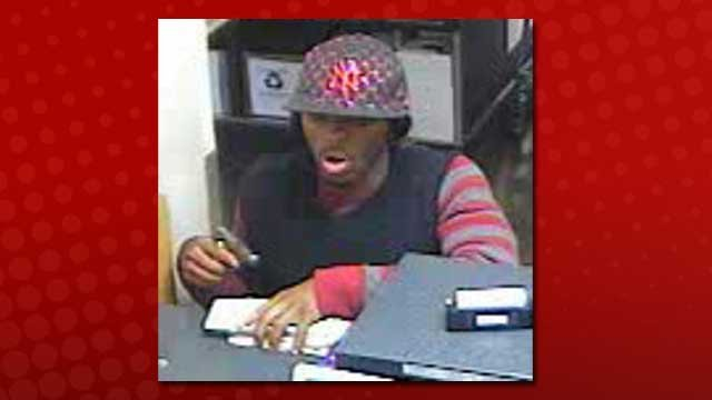An FBI task force apprehended a man believed to have held up three banks in one day. (Courtesy: LasVegasBankRobbers.com)
