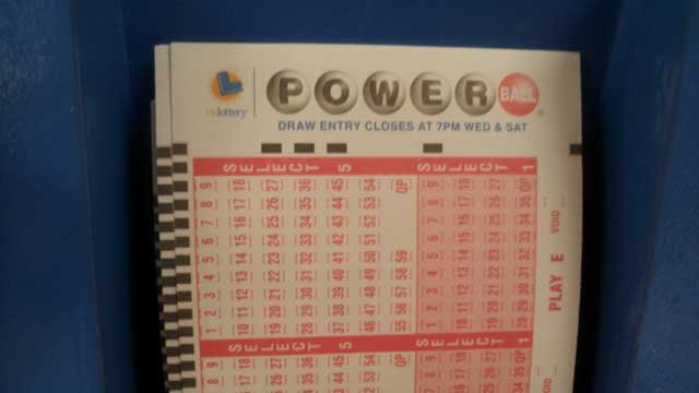 Powerball slips officially became available at the Primm Lotto Store at the Nevada-California border. (Dave Lawrence/FOX5)