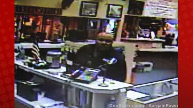 The pawn shop provided a security video image of Dorner it claims was taken when he sold the gun in January. (Courtesy: GunBroker.com - BargainPawn)