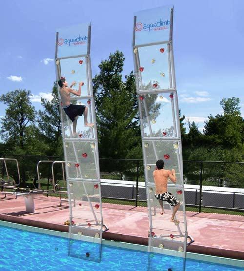 Boulder City Pool Adding Aquaclimb Rock Wall Fox5 Vegas Kvvu