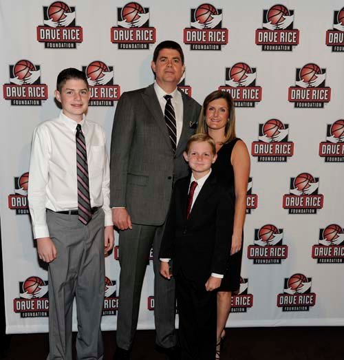 Dave Rice with his family. (wickedcreative)