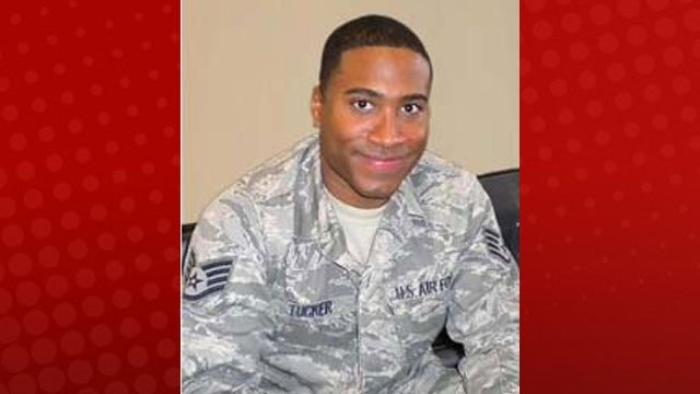 Staff Sgt. Antonio Tucker disappeared in the water at Lake Mead on June 23, 2012. (Courtesy: Creech Air Force Base)