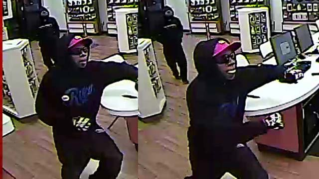 Surveillance stills of the suspects. (LVMPD)