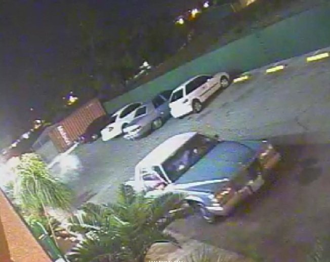 Police released an image of the vehicle believed to be involved in Friday's shooting. (LVMPD)
