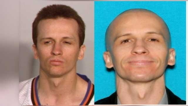 Police released photos of Nathan Benson, the person suspected in a woman's stabbing death on April 28, 2013. (LVMPD)