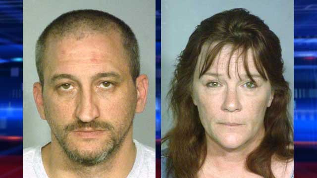 David Wieseckel, left, and Linda Schwan, right. (LVMPD)