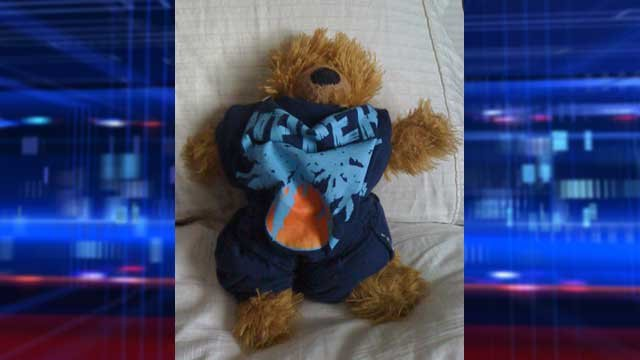 The family says the bear has been an heirloom handed down through three generations. (Photo provided by Teresa Pyle)