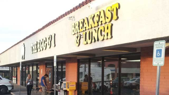 The Egg & I reopened on May 6, 2013, about 35 days after a DUI crashed forced its temporary closure. (Dave Lawrence/FOX5)