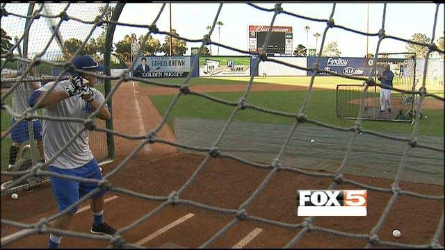Batting practice could include more of a mountain scenery with a possible move near Red Rock Casino.