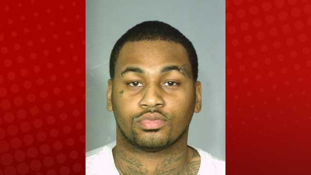 Ammar Harris' booking photo taken on April 16, 2013. (LVMPD)