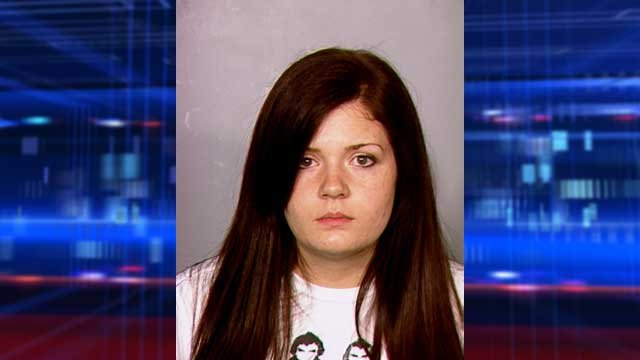 Amanda Brennan was arrested on May 10, 2013 after admitting to police of a relationship with her student. (LVMPD)