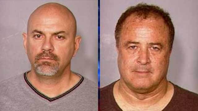 Charles McChesney and John McCabe (Source: LVMPD)