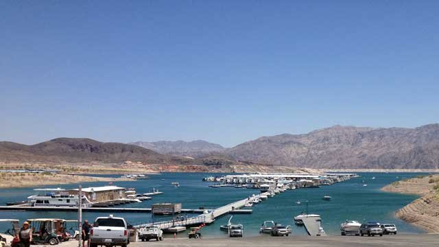 Boaters launch into Lake Mead. (File/FOX5)