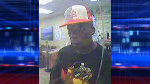 Man sought in 2 Las Vegas bank hold-ups