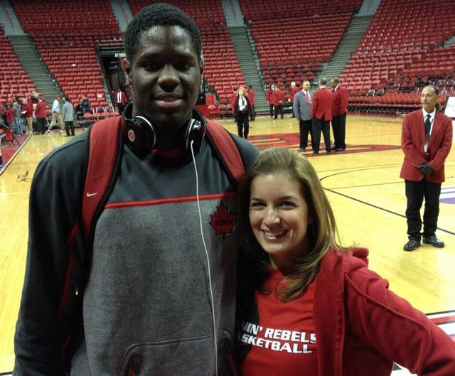 Anthony Bennett and FOX5's Elizabeth Watts (Elizabeth Watts)