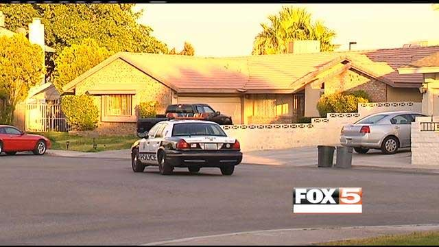 Police were called to a neighborhood near Eastern Avenue and Desert Inn Road on a reported drowning.