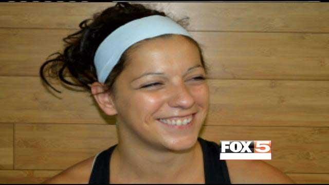 "Sarah Guyard fell during a performance of ""KA"" on June 29. (Source: cirquefitlv.com)"