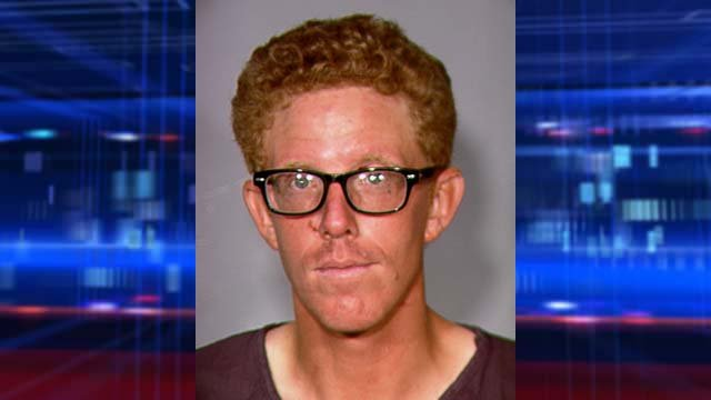 Blake Valbracht was arrested after a security guard's death on July 5, 2013. (LVMPD)
