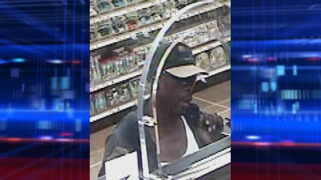 Police released a security video image of a July 8 robbery. (LVMPD)