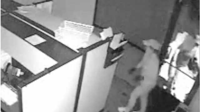 Another suspect seen in a burglary. (LVMPD/YouTube.com)