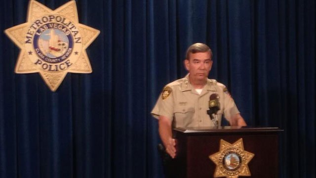 Sheriff Doug Gillespie announced a suspension for Officer Jacquar Roston in connection to a police shooting in November 2012. (Jason Valle/FOX5)