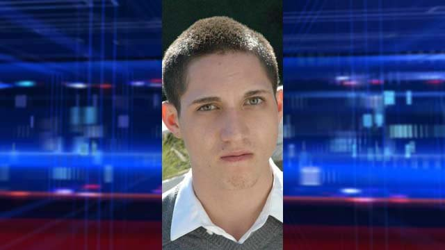 Another shot of Zachary McGuire. (Bullhead City Police Department)