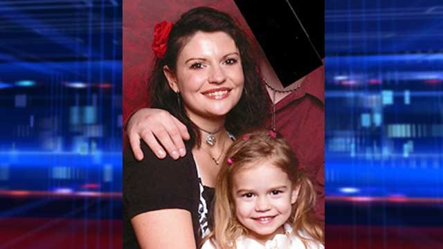 Police released this undated image of Rebecca Smart and her daughter, Rachel. (Source: amberalert.nv.gov)
