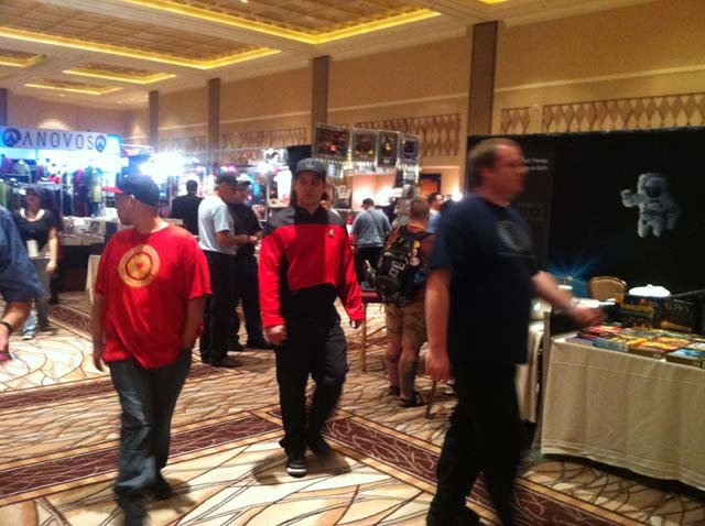 About 1,000 fans are expected to visit this weekend's Star Trek convention at Rio All-Suite Hotel & Casino. (Doug Johnson/FOX5)