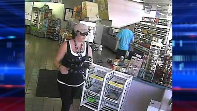 Another angle of the person of interest. (City of Las Vegas)