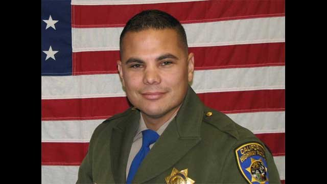 CHP confirmed the person who died in a carjacking attempt on Flamingo Road was Officer Jesus Manuel Magdaleno. (California Highway Patrol)