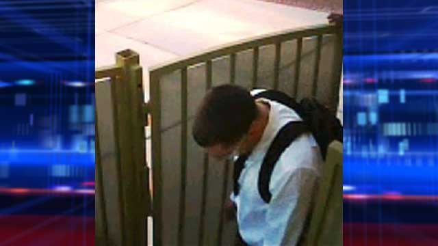 Police said this suspect was armed with a handgun. (LVMPD)