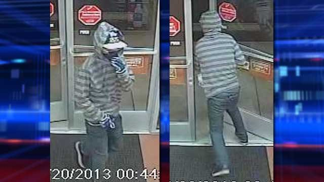 The robberies happened twice during the week of Aug. 11, police said. (LVMPD)