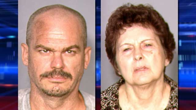 David Brutsche (left) and Devon Newman (Source: LVMPD)