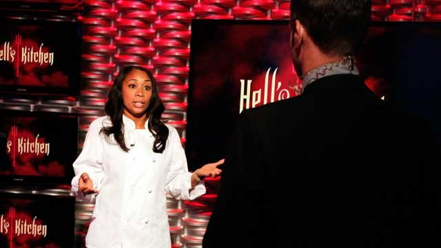 "Ja'Nel Witt talks to MORE's Sean McCallister during an interview before the ""Hell's Kitchen"" season finale. (FOX5)"