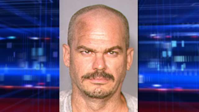 David Brutsche claimed his arrest was unjust during a jailhouse interview with FOX5 on Friday. (LVMPD)