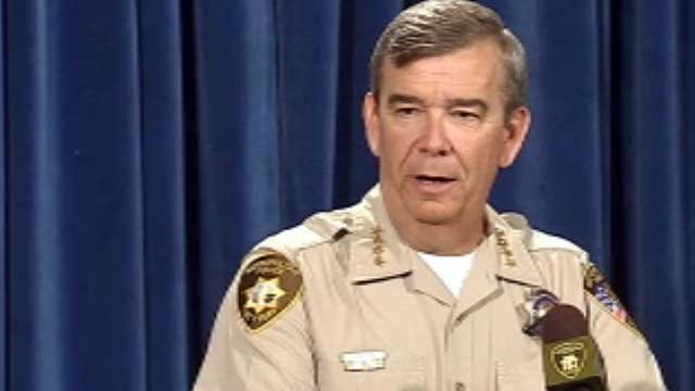 Doug Gillespie first took office as sheriff for the Las Vegas Metro Police Department in 2006. (FOX5)
