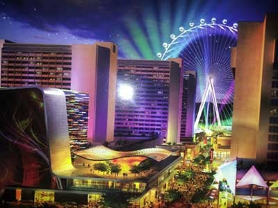 Caesars announced a second round of to take residence at The LINQ on Tuesday. (Artist rendering provided by Caesars Entertainment)